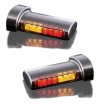 LED Winglets Taillight/Turnsignal Combination, Black