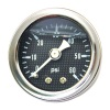 OIL PRESSURE GAUGE CARBON FACE 60 PSI